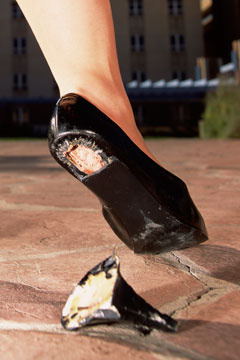 How To Fix A Broken Shoe Heel